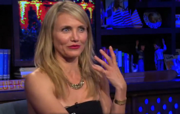 "Video: Cameron Diaz Reveals She Has ""Swam in the Lady Pond"""