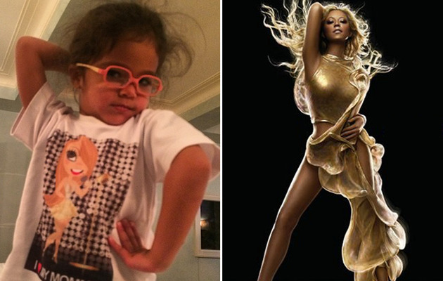 Mariah Carey's Daughter Monroe Strikes Mom's Signature Pose
