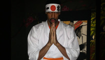 Anthony Davis -- Tallest Sushi Chef Ever ... for New Commercial