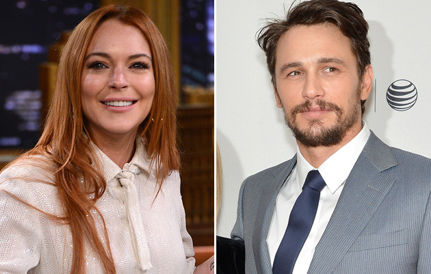 "James Franco Says Lindsay Lohan Is ""Delusional,"" Says They Only Kissed"