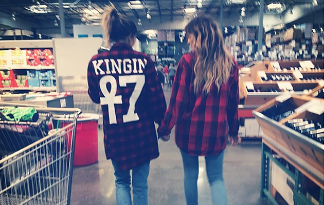 Khloe Kardashian & Kylie Jenner Are Mad for Plaid -- See Their Matching Looks!