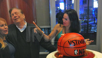 V. Stiviano's Birthday with Donald Sterling --  Celebrated 21st For 10th Time [PHOTOS]