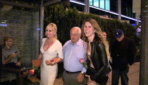 Tommy Lasorda -- CLUBBING IN HOLLYWOOD ... With 2 Girls On His Arms!