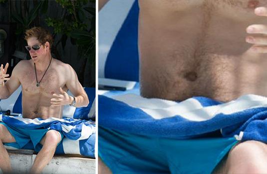 голые фото принца гарри