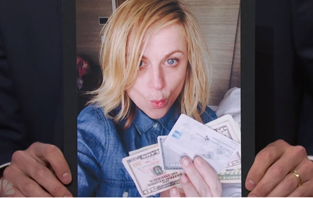 Amy Poehler Has Seth Meyers' Credit Card And She's Not Giving It Back