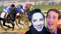 Johnny Weir's Husband -- Me So Pony ... I'm Saddling Up with Johnny at Kentucky Derby