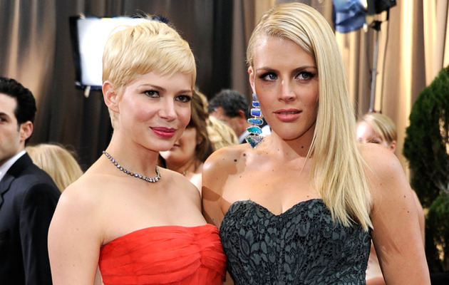 Michelle Williams & Busy Philipps Reunite at Broadway's Cabaret!