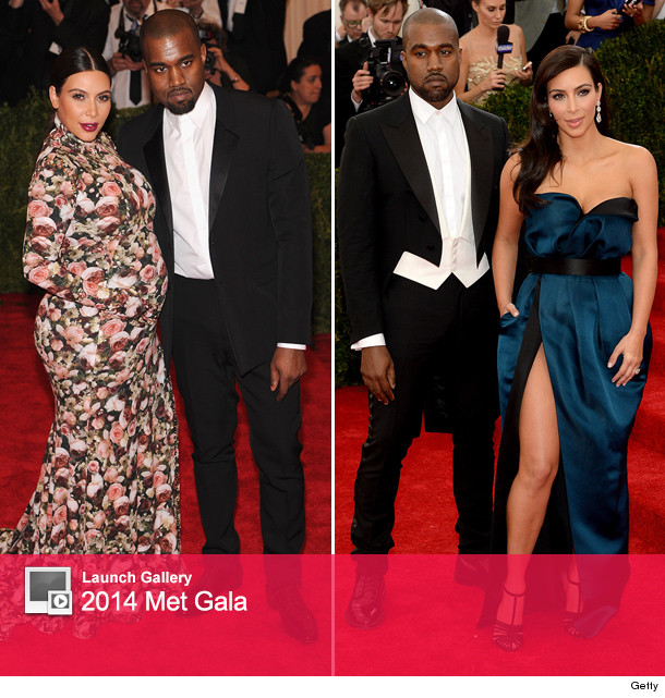 Kim Kardashian Met Gala Dress 2014