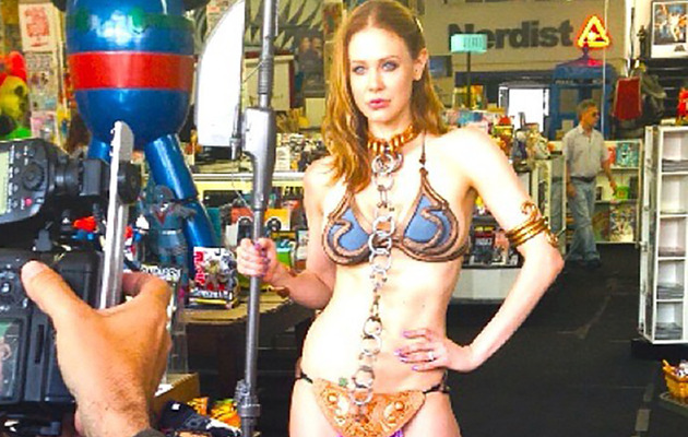 """Boy Meets World"" Star Dons Slave Leia Outfit for May the 4th"