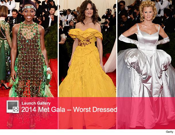 Met Gala Worst Dressed