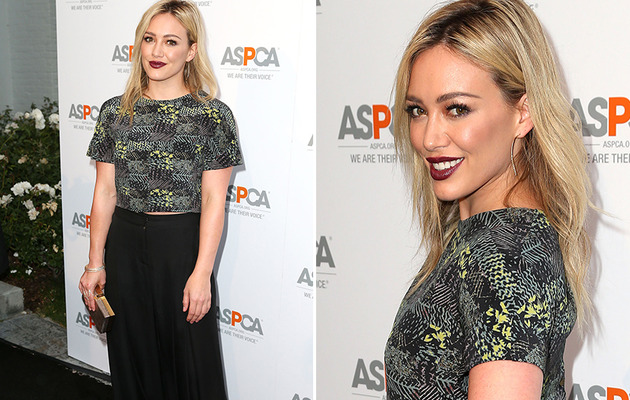 Hilary Duff Goes Goth At ASPCA Event -- Check Out Her Dark Makeover