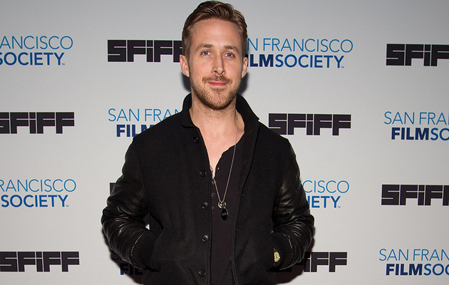 "Ryan Gosling Makes Rare Red Carpet Appearance at ""White Shadow"" Premiere"