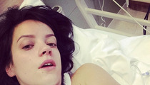 Lily Allen Hospitalized After 'Projectile Vomiting'