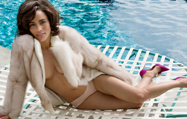 "Paula Patton Goes Topless in Vanity Fair, Talks ""Deep Love"" For Robin Thicke"