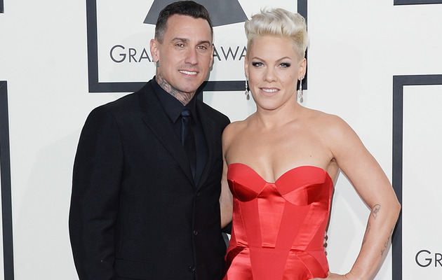 Carey Hart Slams P!nk Pregnancy Rumors With Penis Joke