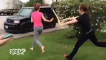 'Shovel Girl' Fight Video Triggers Criminal Investigation