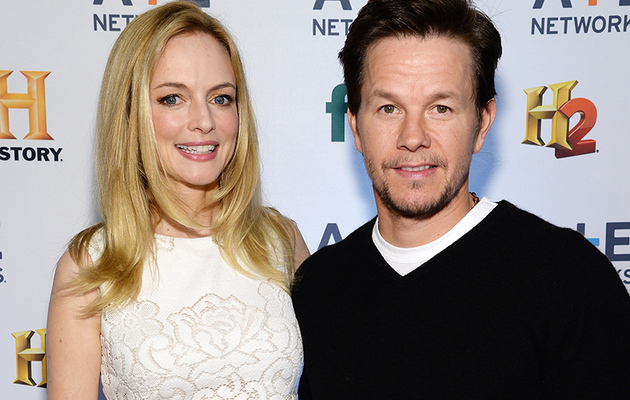 "Heather Graham & Mark Wahlberg Have Mini ""Boogie Nights"" Reunion"