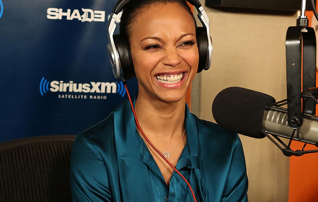 Zoe Saldana Reveals She's a Member of the Mile-High Club!