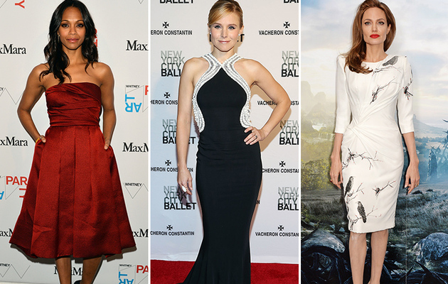 Angelina, Kristen & More – See This Week's Best Dressed Stars!