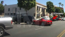 V. Stiviano -- VIDEO PROOF ... Ferrari Accident Wasn't Her Fault