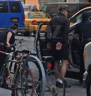 Alec Baldwin BUSTED In New York City for Illegal Biking