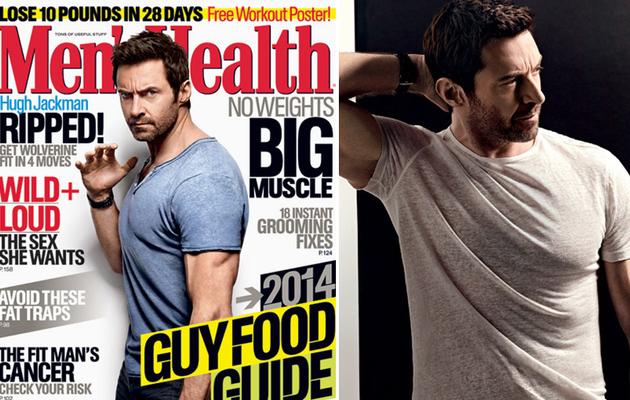 "Hugh Jackman Reveals How He Prepped for Naked ""X-Men"" Scene"