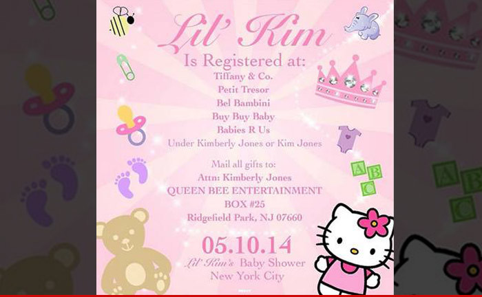 lilu0027 kimu0027s baby shower invitation hereu0027s where iu0027m registered tmzcom