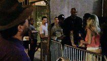 Lamar Odom -- Club Was Afraid He'd Start a Brawl ... Chris Brown & Drake Style