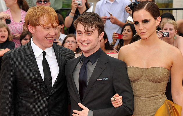 "Emma Watson, Daniel Radcliffe & Rupert Grint Reuniting for ""Harry Potter"""