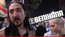 Steve Aoki -- FINALLY Getting Benihana Money ... But There's a Catch