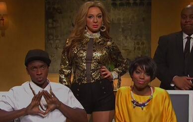 "Beyonce, Solange & Jay Z Get the ""SNL"" Treatment"