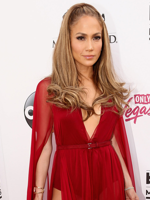 Jennifer Lopez Channels Little Red Riding Hood at Billboard Music Awards