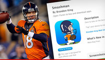 Peyton Manning's Ex-Teammate Creates App ... Inspired By Peyton's Super Bowl Meltdown