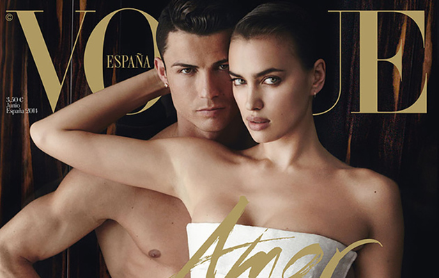 Cristiano Ronaldo Poses Naked With Irina Shayk For Vogue Spain