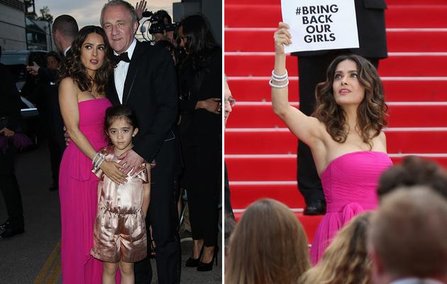Salma Hayek's Daughter Makes Cannes Debut