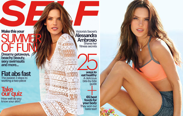 Alessandra Ambrosio Reveals Secrets to Getting Her Bikini Bod