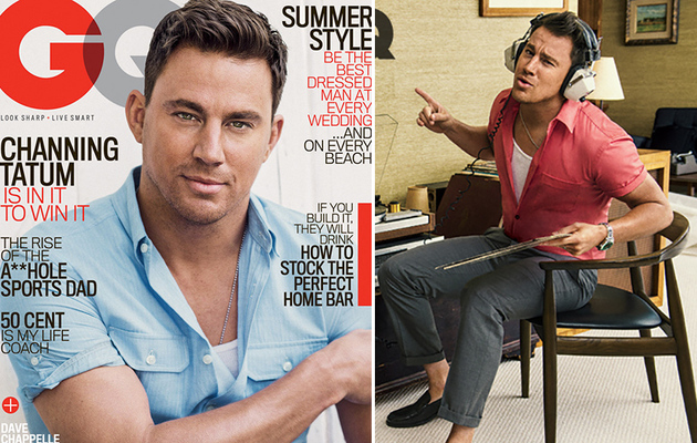 "Channing Tatum Says He's A ""High-Functioning"" Alcoholic & Loves To Eat"