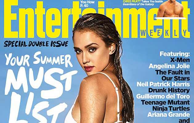 Jessica Alba Flaunts Insanely Hot Bikini Body for EW's Summer Issue