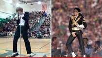 Michael Jackson Estate -- Invites High School Impersonator to Las Vegas