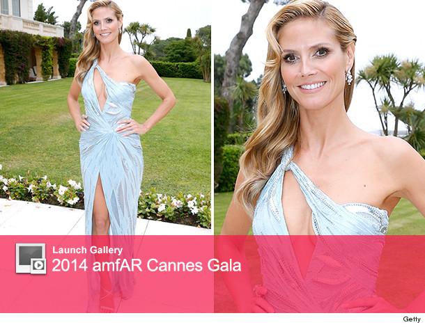 Heidi Klum amfAR Gala Cannes
