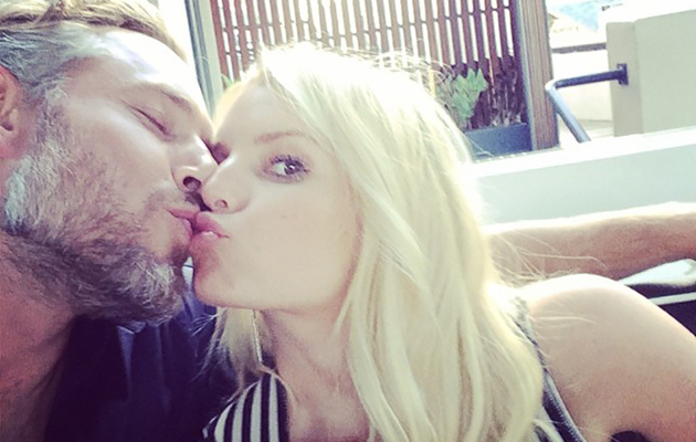 Jessica Simpson Celebrates Fourth Anniversary with Eric Johnson -- See the…