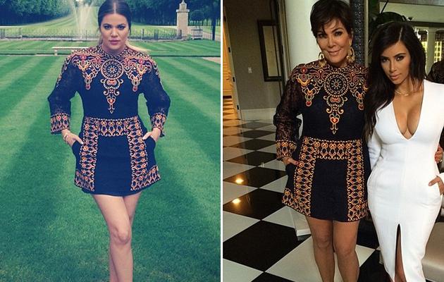 Dueling Dresses: Khloe Kardashian vs. Kris Jenner