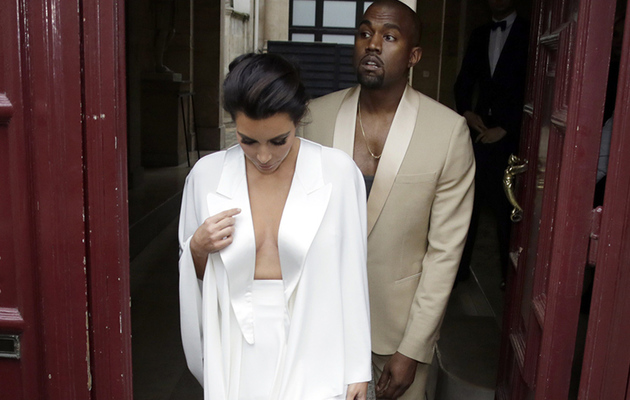 Kim Kardashian & Kanye West Are Married