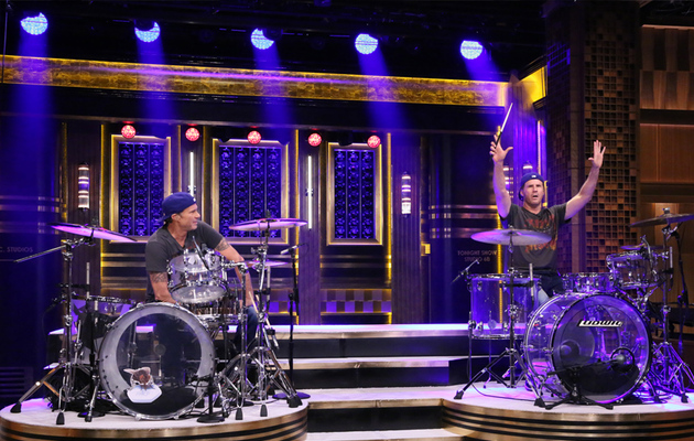 Watch Will Ferrell and Chad Smith Have a Drum-Off!
