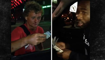 Adrien Broner Gives $1,000 to Homeless Man ... Gets Incredible Reaction