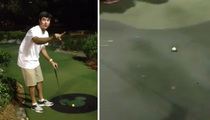 Bubba Watson -- I'm the KING of Mini-Golf ... Watch This Insane Shot!