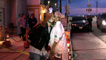 Rihanna DOES Take Photos with Fans ... In Yo' Face, Charlie Sheen!
