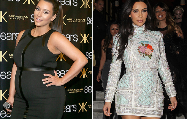 See How Kim Kardashian Dropped Baby Weight Before Wedding