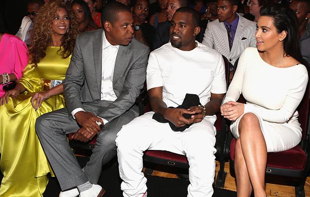 Beyonce & Jay Z Skip Kimye Wedding, Send Message on Instagram