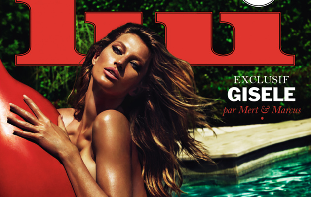 Gisele Bundchen Poses Completely Naked for Lui Magazine
